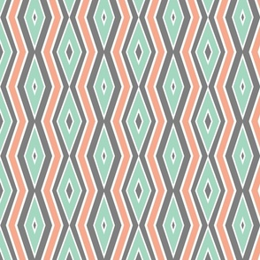 Gray_with_Mint___coral_lines_with_thickness