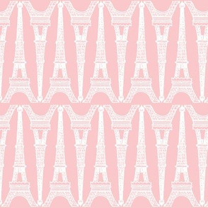 Paris ~ Eiffel For You ~ White and Pink