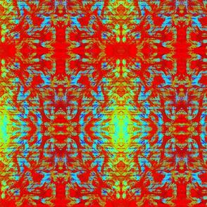 Design Delirium Red aztec