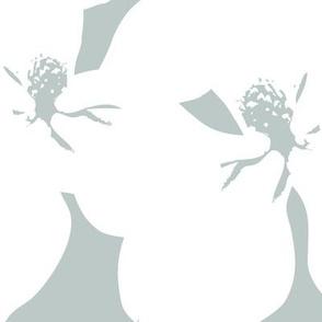 Magnolia Little Gem - Arctic - 3 Yard Panel