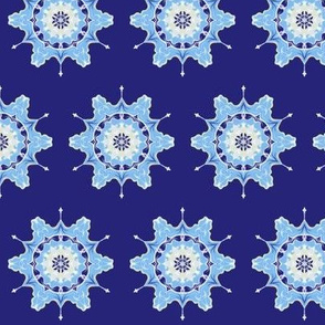 Winter Snowflakes Abstract