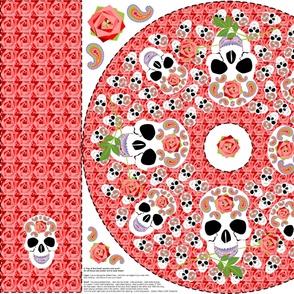 Skulls & Roses! Poncho