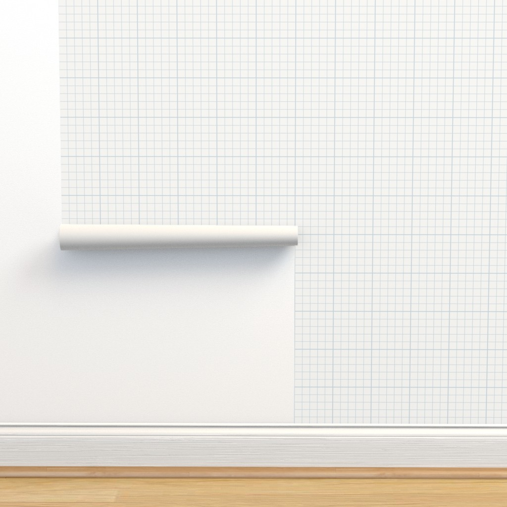 Graph Paper Check On Isobar By Juliastaite Roostery Home Decor
