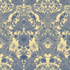 Parrot Damask ~ Provencal ~ Small