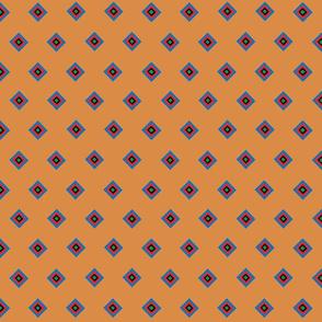 Orange Indian Companion Print
