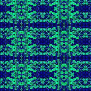 Wild Blue Tartan rad plaid