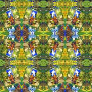 The Green Room aztec rad plaid