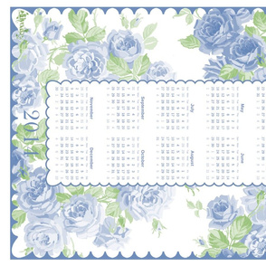 May Day Roses TEA TOWEL 2014