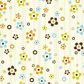Flower Shower - Floral Cream