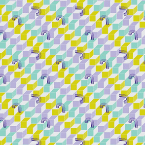 Slinky - violet - small repeat