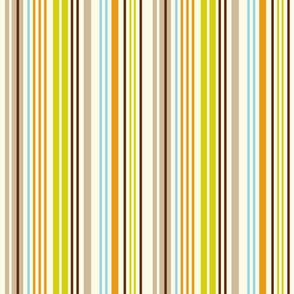 Give A Hoot Stripe - Cream