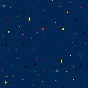 Planets confettis!