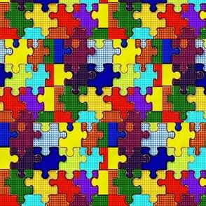 Puzzle dot
