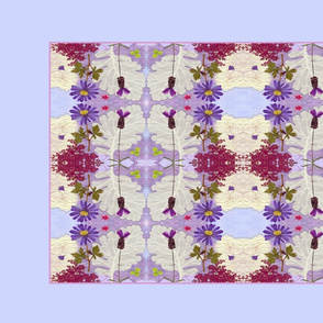 Periwinkle Tea Towel