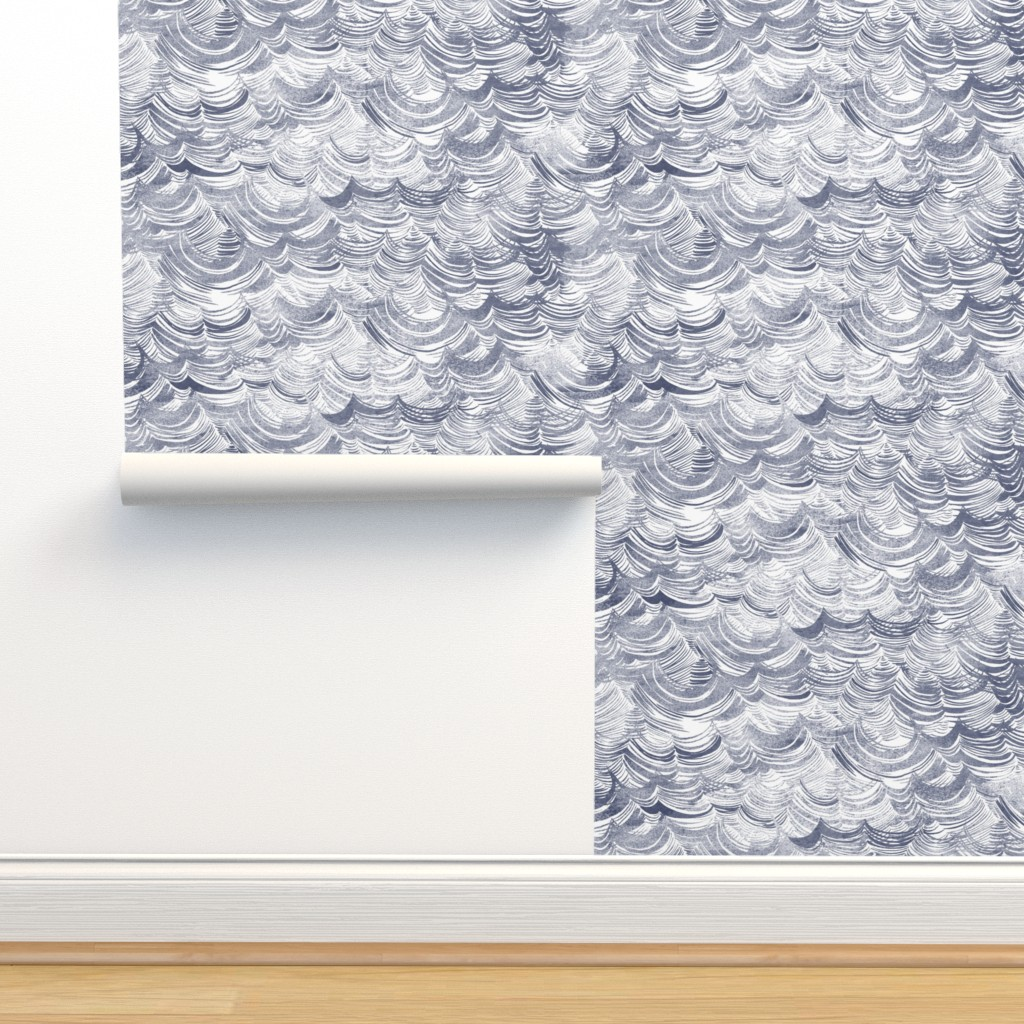 Isobar Durable Wallpaper featuring Wild Ocean by nouveau_bohemian