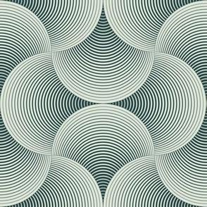 geometric petals