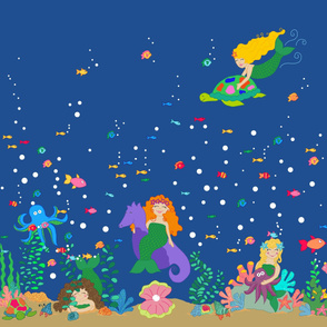 Under the Sea Curtains