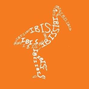 Ibis Calligram