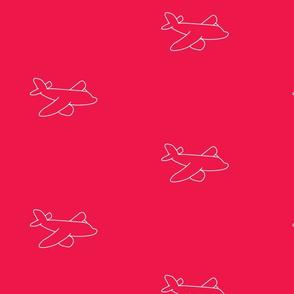 pinkplane silhouette