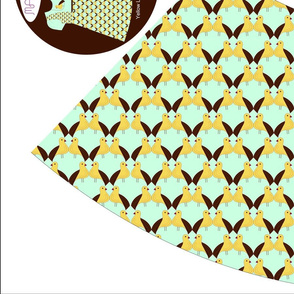 Yellow Lilly Bird Dress_3_Revised