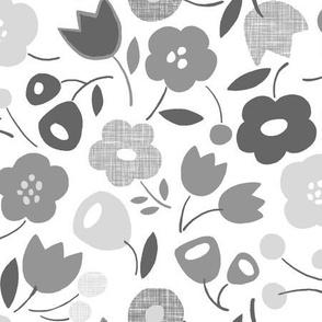 Flower Shower (Gray)