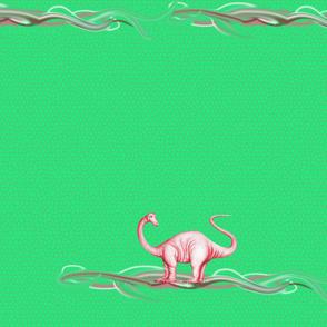 dinosaur-top green