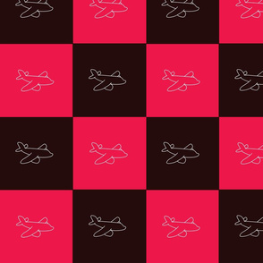 Airplane squares repeating