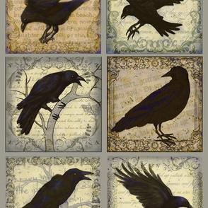 Ravens At Dusk