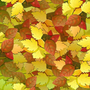 Autumn Leaves - Bear Colors