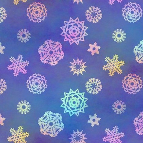 Crystalline Delight ~ Snowflakes ~ Small