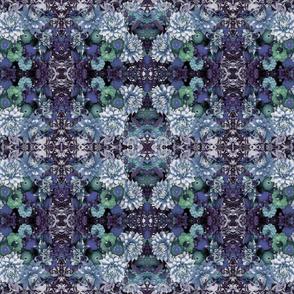 Floral Dusk Tapestry