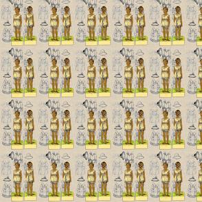 Vintage Paper Dolls-Afrocentric-217