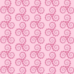 Spiralling Spots
