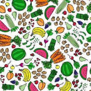 Market Fresh Fruits & Veggies