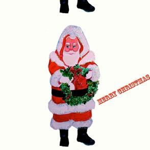 Santa Glitter