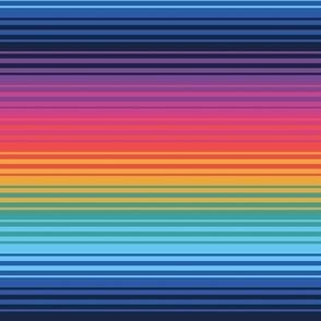 Gradient Rainbow Stripes 4