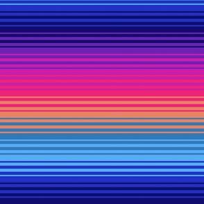 Gradient Rainbow Stripes 1