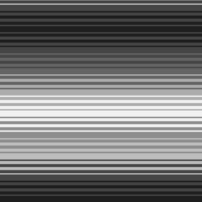 Black and White Gradient Stripes