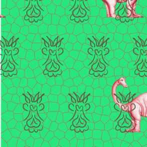 dinosaur-legging green