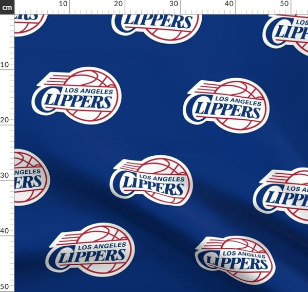 Los Angeles Clippers Logo Spoonflower