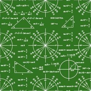 Trig & Triangles (Chalkboard)