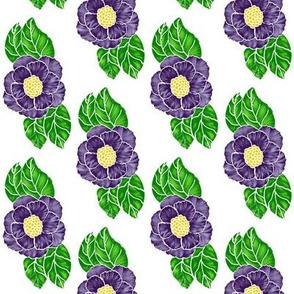 open rose garden-purple