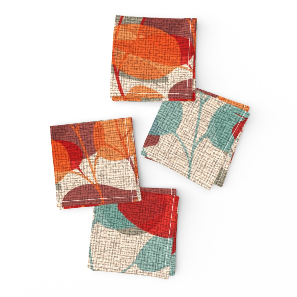 Frizzle Cocktail Napkins featuring Lunaria on a Fall Day by chicca_besso
