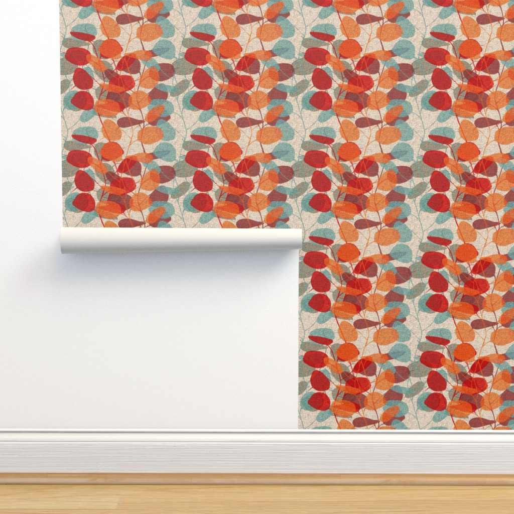 Isobar Durable Wallpaper featuring Lunaria on a Fall Day by chicca_besso
