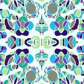 floral design 1 aquatic Hues