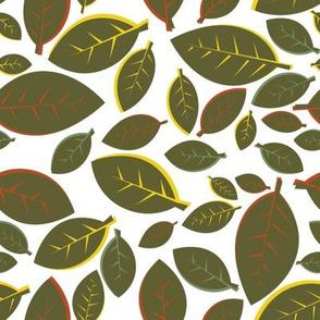 Tiki Party Leaf Green