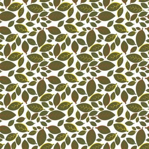 Tiki Party Leaf Green Small