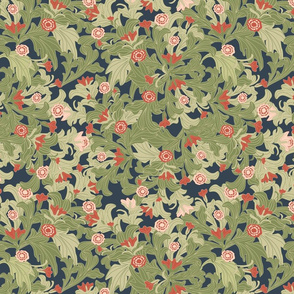 victorian wallpaper natural