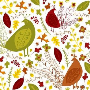autumn love (white)