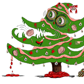Zombie Christmas Tree, large scale